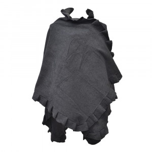 Poncho cape Butterfly, anthracite