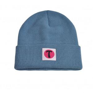 Bonnet en laine, Bleu