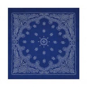 Bandana paisley bleu