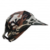 Bandana camouflage avec visière