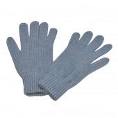 Gants en laine, Bleu clair