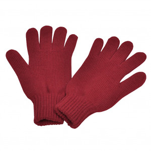 Gants en laine, Rouge