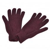 Gants en laine, Purple