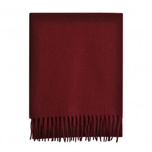 Echarpe bordeaux Lambswool