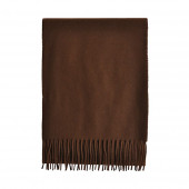 Echarpe marron Lambswool