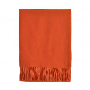 Echarpe orange Lambswool