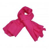 Foulard carré en soie, Fushia