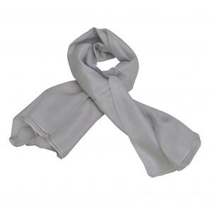 Foulard carré en soie, Gris