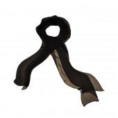 Foulard en soie, Noir