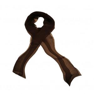 Foulard en soie, Cacao