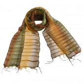 Foulard en soie, Chemin d'orient vert