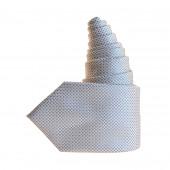 Cravate Cube grise