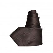 Cravate à carreaux Bronze