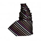 Cravate rayée Karl