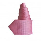 Cravate Cubic rose