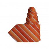 Cravate dégradée orange