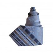 Cravate en soie bleue Mixx