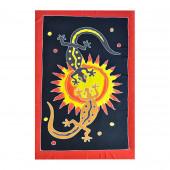 Paréo batik soleil salamandre