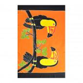 Paréo batik toucans