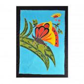 Paréo batik papillons naïfs