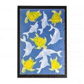 Paréo batik danse des dauphins