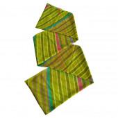 Paréo Obliques vert