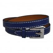 Bracelet en cuir Bleu Outremer