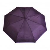 Parapluie violet, liseré lilas