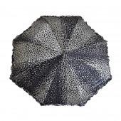 Parapluie léopard noir