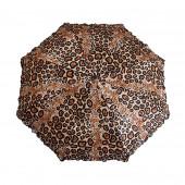 Parapluie jaguar marron clair