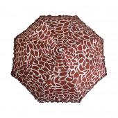 Parapluie girafe marron
