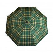 Parapluie écossais vert anglais/camel