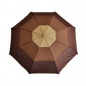 Parapluie dégradé marron