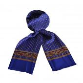 Foulard Carven bleu royal