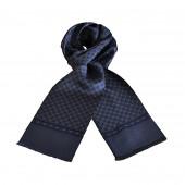 Foulard Carven gris bleu
