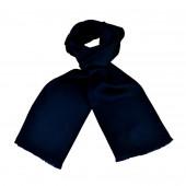 Foulard Carven uni bleu foncé