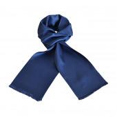 Foulard Carven uni bleu