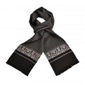 Foulard Carven noir Dandy