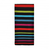 Echarpe Azur noir/multicolore