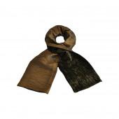 Echarpe ANITA taffetas bronze