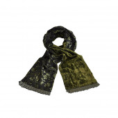 Echarpe Palatchy vert/bronze