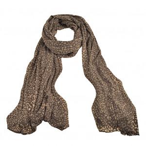 02341161e58d8 Echarpe léopard gris souris, echarpe tendance, vente d'écharpes ...