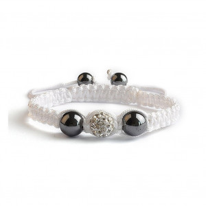 Shamballa 1 Perle - Crystal