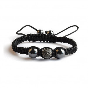Shamballa 1 Perle - Black Diamond