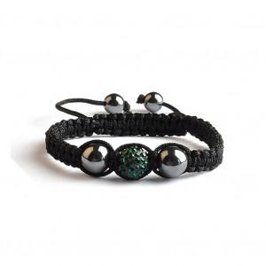Shamballa 1 Perle - Vert Emeraude