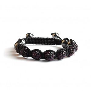 Shamballa 7 Perles - Améthyste
