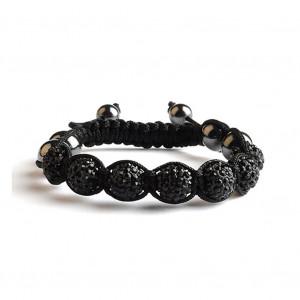 Shamballa 7 Perles - Noir