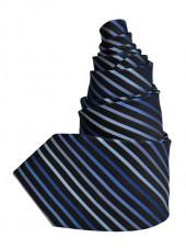 Cravate rayée Dandy Marine