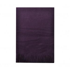 Écharpe cachemire CARVEN, violette