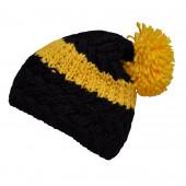 Bonnet bicolore jaune